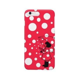 水玉ちゃん Smartphone cases