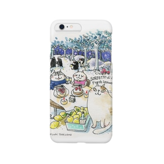 CatChips森のカフェ Smartphone cases