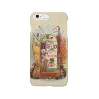 The British Library - The World's Explorers; or, travels and adventures. Illustrated, etc Smartphone cases
