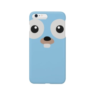 Gopher front Smartphone cases