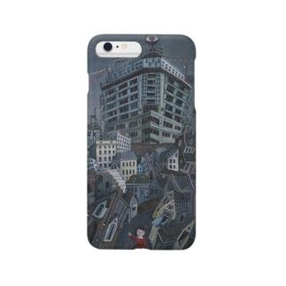 utsumiemaの夢の中の町 Smartphone cases