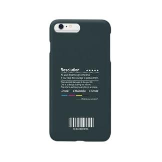 TANA_DESIGN_HONPOの渋くもう一度将来の夢を見返す iPhoneケース Smartphone cases