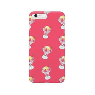Strawberry parfait pattern 2 Smartphone cases