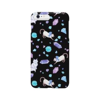 gemstone(black) Smartphone cases