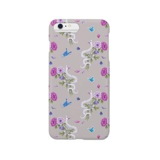 anemone(beige) Smartphone cases