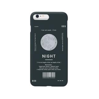 夜にどうしても考え込んじゃう人の為のiPhoneケース Smartphone cases