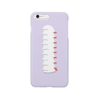 アザラシモドキ ラベンダー Smartphone cases