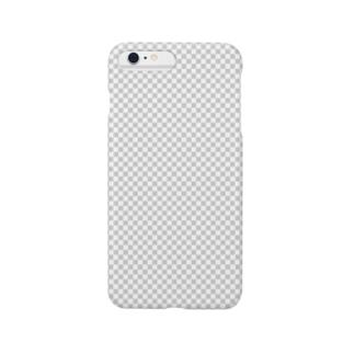 透明グリッド風 Smartphone cases