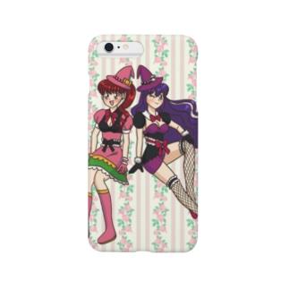 バトル魔女っ子 Smartphone cases