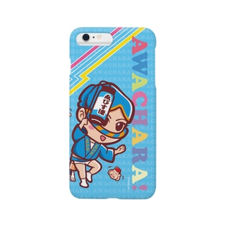ゑびす連②スマホケース(阿波キャラ)  Smartphone cases