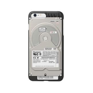 PCハードディスク風(iPhone6 Plus専用) Smartphone cases