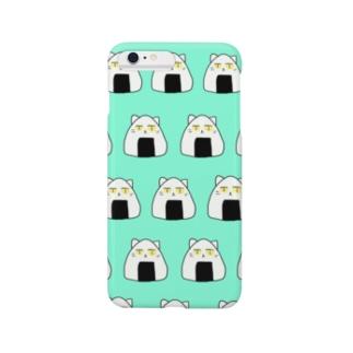 ねこおにぎり Smartphone cases