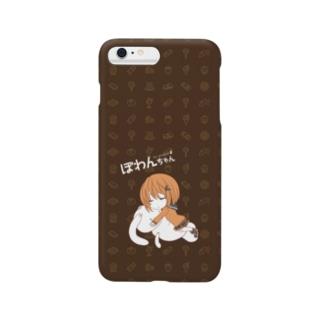 おねむりぽわんちゃん Smartphone cases