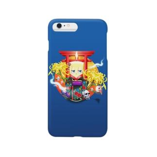 ロウソク姐さん Smartphone cases