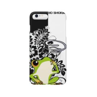 カエルのスマホケース Smartphone cases