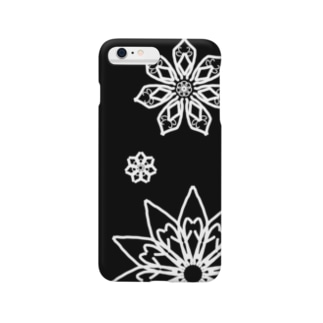 Rin shopの雪の華 Smartphone cases