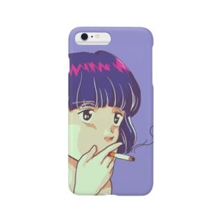 煙草女 Smartphone cases