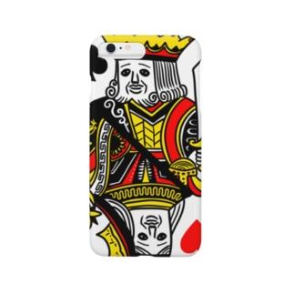 キング&クイーン Smartphone cases