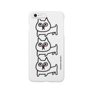 バウの「三匹の小林さん」 Smartphone cases