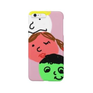 オシャレ三色団子!? Smartphone cases
