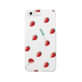 いちご  Smartphone cases