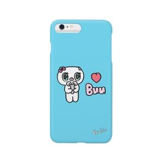 虹色おめめの子豚のBuu Smartphone cases