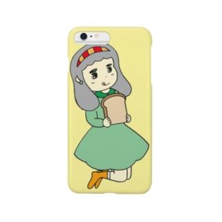 食パン美味しい〜 Smartphone cases
