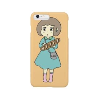 フランスパン美味しい〜 Smartphone cases