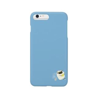 本読みモシャラン[あおぞら] Smartphone cases