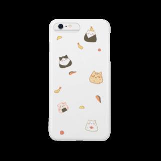 しゅり🍙のにゃんこおにぎり Smartphone cases