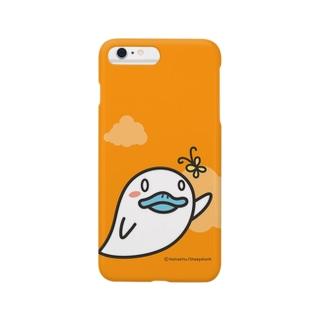 おばけあひる(Orange) スマートフォンケース