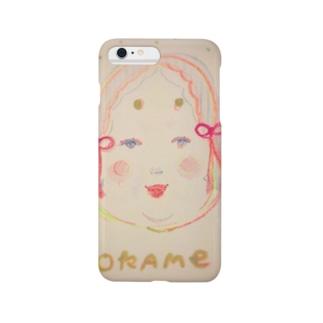おかめちゃん Smartphone cases