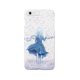 闇が降る雪原(iPhone 6s/6/6sPlus/6Plus/XS/X向け) Smartphone cases