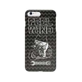 FEEL WIND 〜ドラ猫モータース〜カーボン風 iPhone5/5s/6/6Plus Smartphone cases