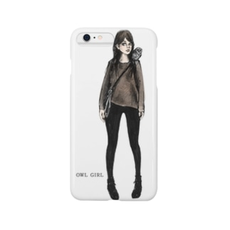 OWL GIRL Smartphone cases