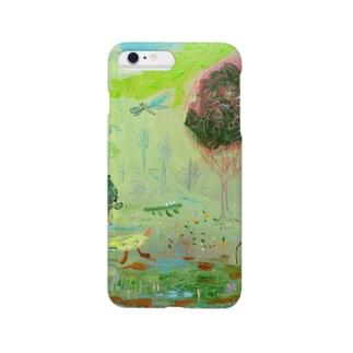 ムラナギ/森を行く日 Smartphone cases