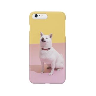「我輩は犬である」 Smartphone cases