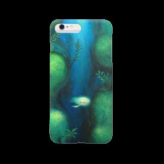 月ノ子の森に恋してのムラナギ/アシュリ Smartphone cases