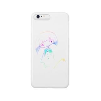 レインボーガール Smartphone cases