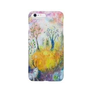 ムラナギ/マヨイの森の木 Smartphone cases