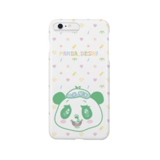 パンダでし。 Smartphone cases