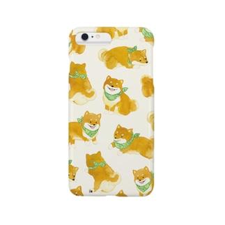 柴犬iPhoneケース Smartphone cases