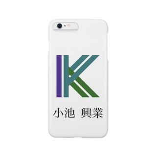 会社のロゴ入りアクリルブロック Smartphone cases