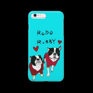 69WORKSのろどるびちゃん Smartphone cases