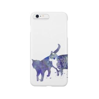 宇宙色ねこ Smartphone cases