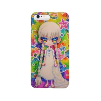 夢見る女の子。 Smartphone cases