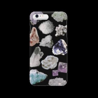 ひねもす屋 2号店の鉱物標本 Smartphone cases