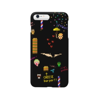 I Love Cheeseburger Smartphone cases