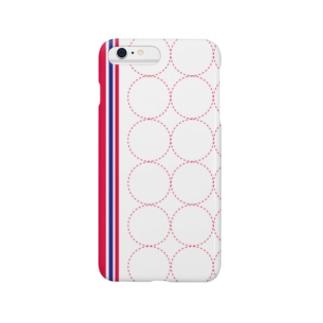 シール台紙風 Smartphone cases
