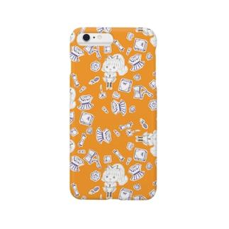 pi_ta_panの鼻毛の女の子 Smartphone cases